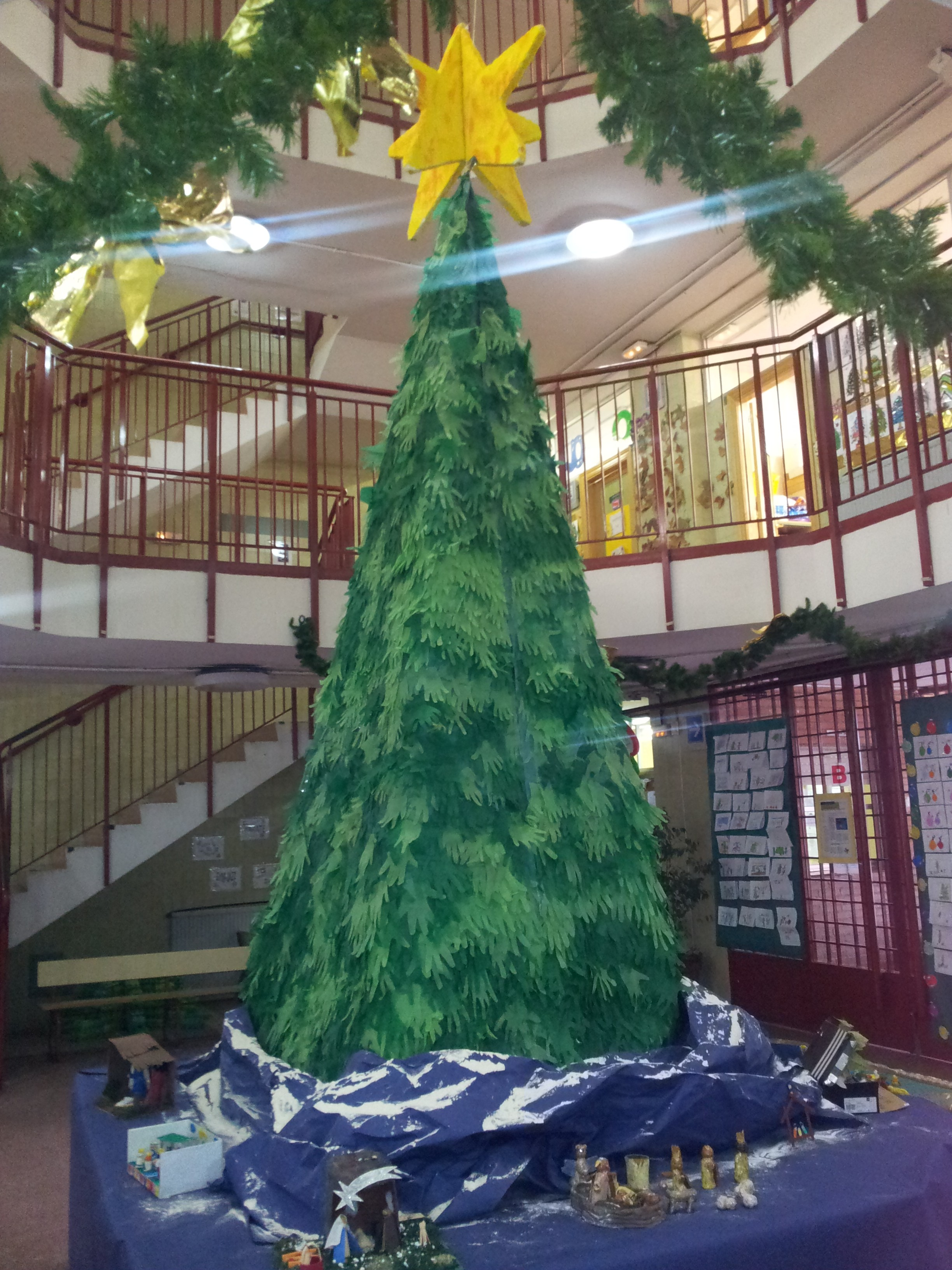 La navidad ha llegado al p o baroja c e i p p o baroja for Ambientacion para navidad